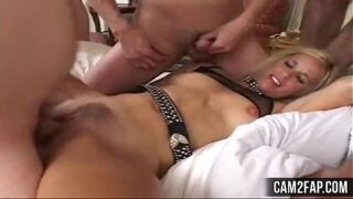 Amateur  Cream Pie Gang Bang