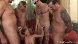 5 guys creampie in this xxx videos